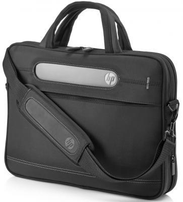 Сумка для ноутбука 17.3 HP Business Slim Top Load синтетика черный 2UW02AA