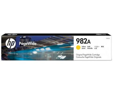 Картридж HP № 982A T0B29A для HP PageWide Enterprise Color 765/780/785 желтый 16000стр manage enterprise knowledge systematically