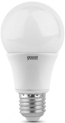 Лампа светодиодная шар Gauss 102502110-T E27 10W 4100K