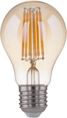 Лампа светодиодная груша Elektrostandard Classic F E27 8W 3300К 4690389108327 elektrostandard лампа светодиодная elektrostandard classic груша матовая e27 15w 3300k 4690389085819