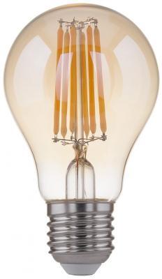 Лампа светодиодная филаментная Classic LED E27 12W 3300K груша золотая 4690389108341