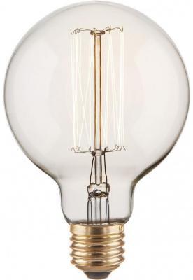 Лампа накаливания диммируемая E27 60W шар прозрачный 4690389082160 от 123.ru