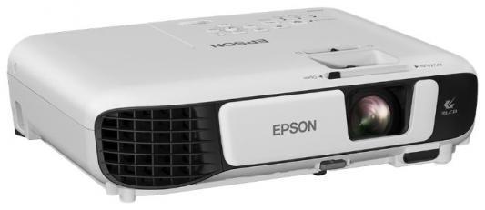 Проектор Epson EB-W42 1280x800 3600 люмен 15000:1 белый V11H845040 проектор epson eb w42