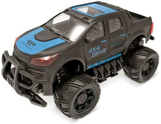 Машинка на радиоуправлении Пламенный мотор Внедорожник ПМ 040 пластик, металл от 3 лет синий 870257 машинка на радиоуправлении пламенный мотор спорткар разноцветный от 3 лет пластик металл