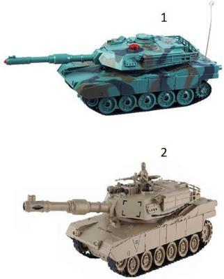 Танк на радиоуправлении Пламенный мотор Военная техника - Abrams М1А2 пластик, металл  6 лет цвет  ассортименте 870294