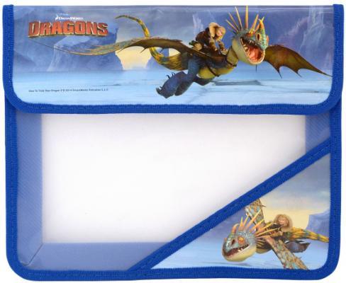 Папка для тетрадей на липучке ACTION! DRAGONS DR-FA5 пенал на двух молниях action dragons конгрев метал разм 190х105 мм с черным драконом