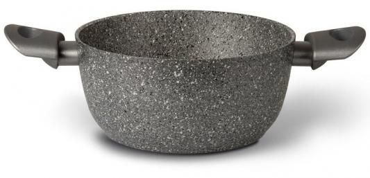 Кастрюля TVS Mineralia 20 см 2.6 л алюминий BL480202910501 сковороды tvs сковорода tvs mineralia 30 см