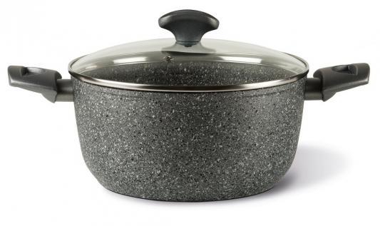 Кастрюля TVS Mineralia Induction 24 см 4.5 л алюминий BS811243310001 сковороды tvs сковорода tvs mineralia 24 см