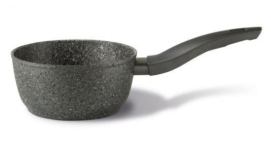 Ковш TVS Mineralia Induction 16 см 1.2 л алюминий BS479163310101 сковорода tvs bs279203310201 mineralia induction