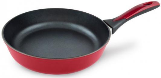 Сковорода Нева-Металл 97128I Бордо 28 см алюминий сковорода нева металл pg128 золотая жемчужина 28 см алюминий