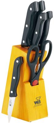 Набор ножей Wellberg WB-0180 wellberg набор ножей wb 5426 im