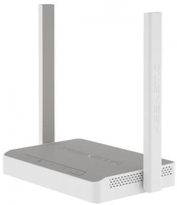 Беспроводной маршрутизатор Keenetic Lite KN-1310 802.11bgn 300Mbps 2.4 ГГц 4xLAN серый белый