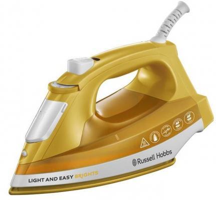 Утюг Russell Hobbs 24800-56 2400Вт жёлтый белый кухонный комбайн russell hobbs 19005 56 19005 56