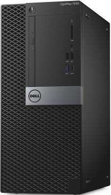 Системный блок DELL Optiplex 7050 MT i7-6700 3.4GHz 16Gb 512Gb SSD R7 450-4Gb DVD-RW Win10Pro клавиатура мышь черный серебристый 7050-2578 компьютер dell optiplex 7050 intel core i7 6700 ddr4 16гб 256гб 256гб ssd amd radeon r7 450 4096 мб dvd rw windows 10 professional черный и серебристый [7050 2578]