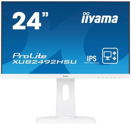 Монитор 23.8 iiYama XUB2492HSU-W1 iiyama iiyama xub2492hsu b1