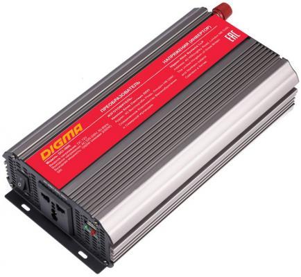 Автомобильный инвертор напряжения Digma DCI-1000 1000Вт все цены