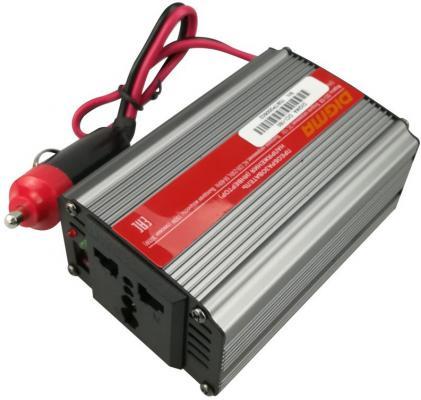 Автомобильный инвертор напряжения Digma DCI-150 150Вт автомобильный инвертор напряжения belkin f5c412eb300w