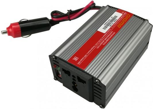 Автомобильный инвертор напряжения Digma DCI-200 200Вт автомобильный инвертор напряжения belkin f5c412eb300w