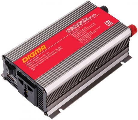 Автомобильный инвертор напряжения Digma DCI-500 500Вт инвертор сварочный ресанта саи 160 190 240в 10 160а 1 0 4 0мм