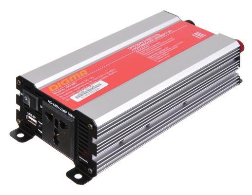 Автомобильный инвертор напряжения Digma DCI-800 800Вт автомобильный инвертор напряжения belkin f5c412eb300w