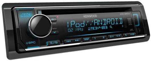 Автомагнитола Kenwood KDC-220UI USB MP3 CD FM RDS 1DIN 4х50Вт черный автомагнитола kenwood kmm 103gy usb mp3 fm 1din 4х50вт черный