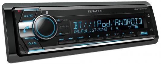 Автомагнитола Kenwood KDC-X5200BT USB MP3 CD FM RDS 1DIN 4х50Вт черный автомагнитола cd usb kenwood kdc 300uv