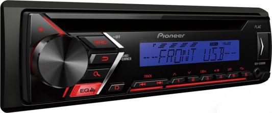 Автомагнитола Pioneer DEH-S100UBA USB MP3 CD DVD FM RDS 1DIN 4x50Вт черный автомагнитола kenwood kdc bt500u usb mp3 cd fm rds 1din 4х50вт черный