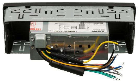 Автомагнитола Digma DCR-100G24 USB MP3 FM 1DIN 4x45Вт черный автомагнитола digma dcr 420r usb mp3 fm 1din 4x45вт черный