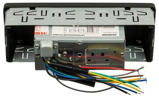 Автомагнитола Digma DCR-110G24 USB MP3 FM 1DIN 4x45Вт черный автомагнитола digma dcr 110g24