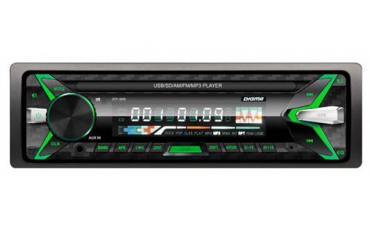 Автомагнитола Digma DCR-400G USB MP3 FM 1DIN 4x45Вт черный автомагнитола digma dcr 100b24