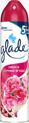 Освежитель воздуха Glade Пион и сочные ягоды 300 мл освежитель воздуха glade цитрусовый 300 мл