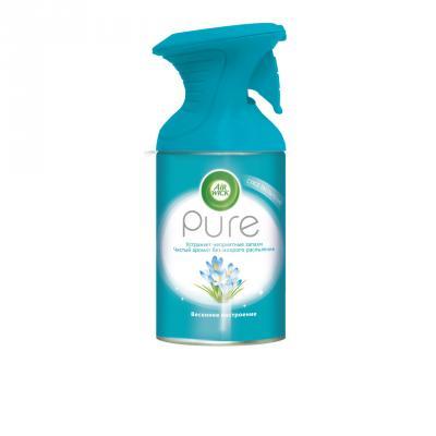 AIRWICK Pure Освежитель воздуха Весеннее настроение 250 мл освежитель воздуха air wick pure весеннее настроение