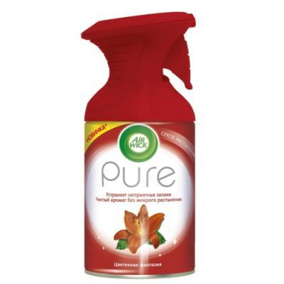 Air Wick Pure Освежитель воздуха Цветочная фантазия 250 мл air wick air wick ароматизированная свеча лесные ягоды 105 гр