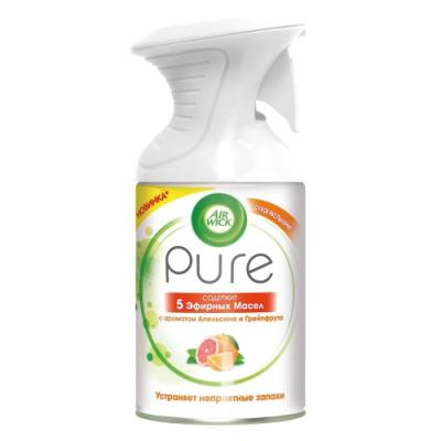 Air Wick Pure Освежитель воздуха 5 Эфирных Масел с ароматом Апельсина и Грейпфрута 250 мл 4mm 7x19 grade 304 high tensile structure core stainless steel wire rope cable wick high quality wick diy