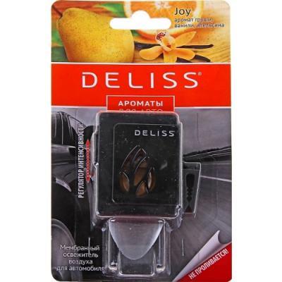 DELISS Мембранный освежитель воздуха для автомобиля серии Joy 4мл deliss мембранный освежитель воздуха для автомобиля серии comfort и harmony 2 аромата 4мл