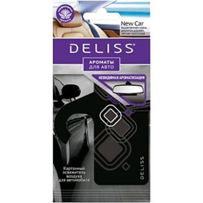 DELISS Картонный освежитель воздуха для автомобиля New Car new 1pair car left