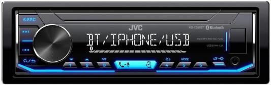 Автомагнитола JVC KD-X351BT USB MP3 FM 1DIN 4x50Вт черный