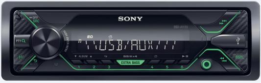 Автомагнитола SONY DSX-A112U USB MP3 FM RDS 1DIN 4x55Вт черный автомагнитола sony mex gs820bt usb mp3 cd fm 1din 4x100вт черный