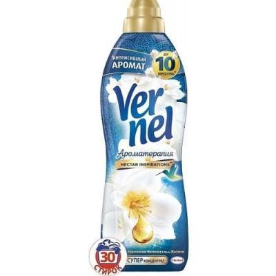 Кондиционер для белья Vernel Ароматерапия. Магнолия и жасмин 910мл 2202988 vernel кондиционер для белья ароматерапия вдохновения концентрат 1 л