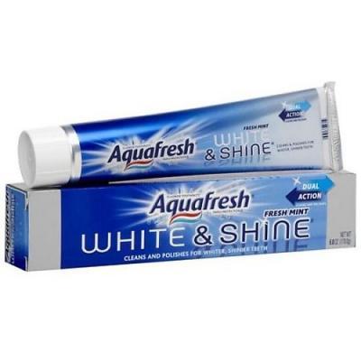 Зубная паста Aquafresh Сияющая белизна 100 мл PNS7062100 aquafresh зубная щетка hd зубная паста отбеливающая aquafresh 75 мл