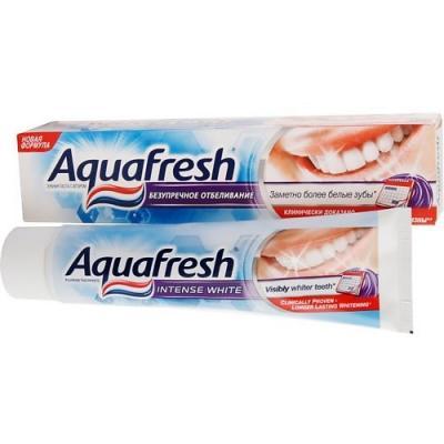 Зубная паста Aquafresh Безупречное отбеливание 100 мл P70627/P70951/P80069 aquafresh зубная щетка hd зубная паста отбеливающая aquafresh 75 мл
