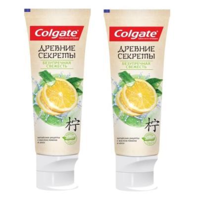 Зубная паста Colgate Безупречная свежесть 75 мл colgate зубная паста комплексная 12 pro здоровое дыхание colgate 75 мл