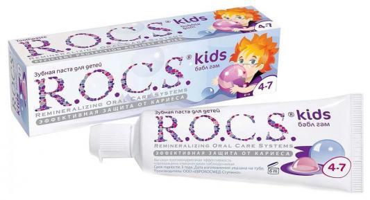 Зубная паста R.O.C.S. Бабл Гам 45 грамм ароматизатор dr marcus ecolo бабл гам
