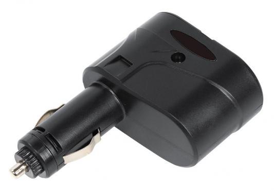 Разветвитель прикуривателя Digma DCN-12P2 черный планшет dell latitude 5285 16гб 512гб windows 10 professional 64 черный [5285 7949]