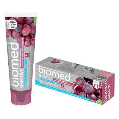 Зубная паста Biomed Сенситив 100 мл biomed зубная паста sensitive сенситив 100 г