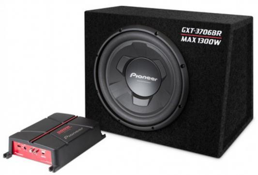 Сабвуфер Pioneer GXT-3706BR динамик 12 300Вт-1300Вт 4Ом сабвуфер pioneer ts wx306b динамик 12 350вт 1300вт