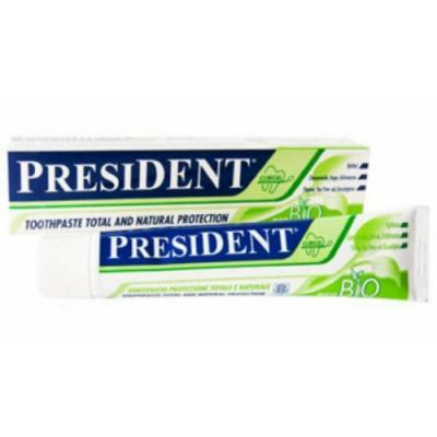 Зубная паста President Эко-био 75 мл зубная паста president eco bio объем 75 мл