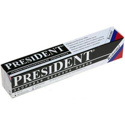 Зубная паста President Реноме 75 мл зубная паста president president зубная паста active plus туба 30 мл