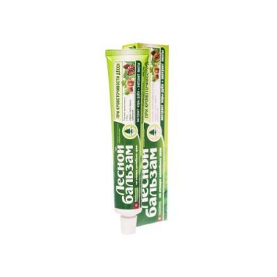 Зубная паста Лесной бальзам Профилактическая с экстрактами коры дуба и пихты на отваре трав 75 мл