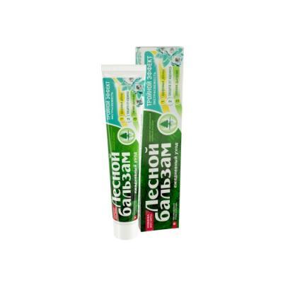 Зубная паста Лесной бальзам Тройной эффект Экстрасвежесть 75 мл зубные пасты лесной бальзам зубная паста с биогранулами 75мл